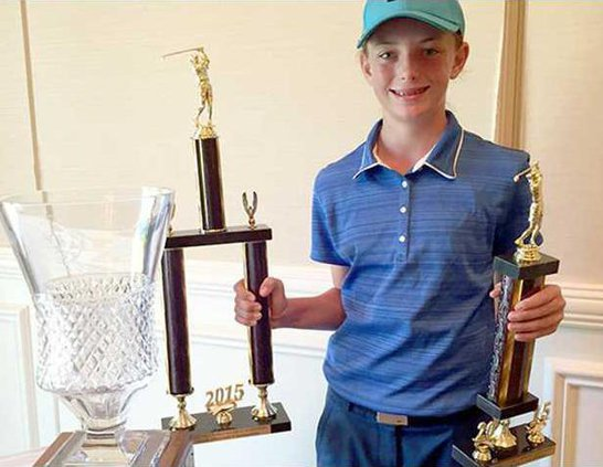 sports - golf tournament winner