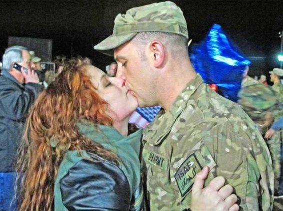 1Jelisa and Sgt. Jason Norsworthy