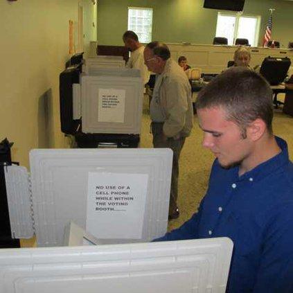Brian Burbage votes