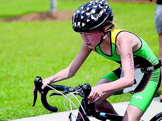 Coastal Kids triathlon bicycling 3