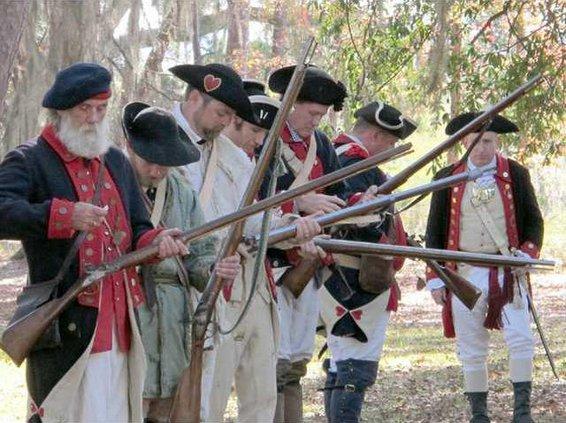 Fort Morris reenactment -- by RC Murray