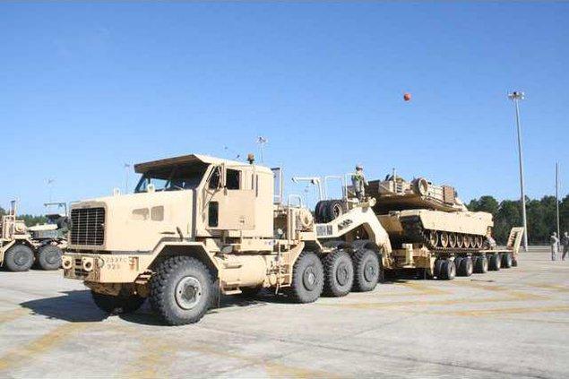 Fort Stewart heavy vehicles