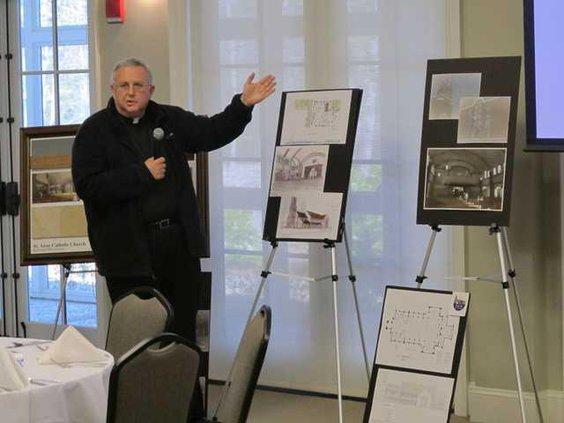 Fr Smith at Rotary