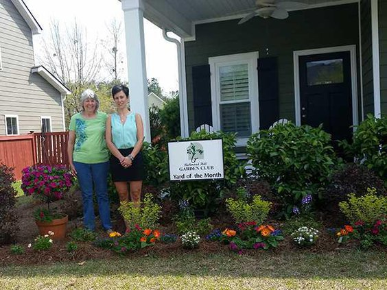 Garden Club Yard of the Month April