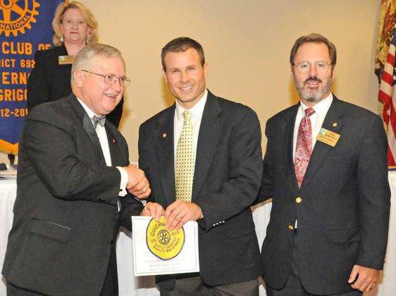 Rotary Gold Award1