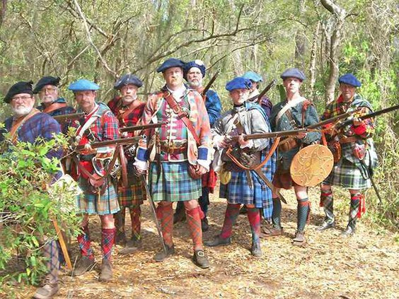 Scots Highlanders of Darien 1736