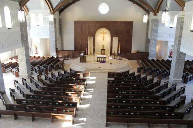 St. Annes balcony gives full view of the pristine sanctuary. Photo by Evelyn Fallon