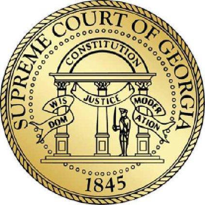 Supreme Court of GA seal