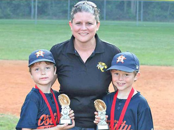 Tanner and her boys Carson and Colby will all be together next year at RHE