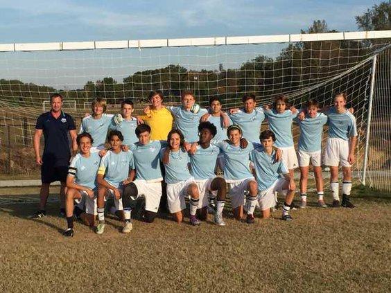 U16 boys soccer