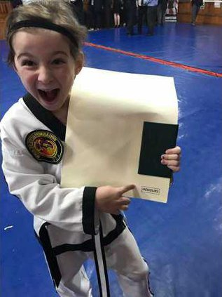 Zoey black belt2