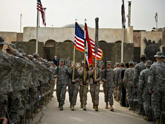 colors retired in iraq