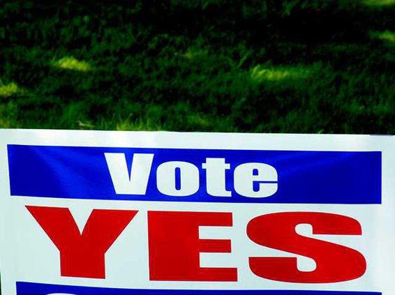election yard sign