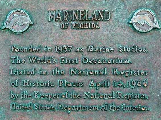 marineland plaque