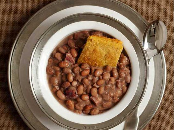 pinto beans and cornbread