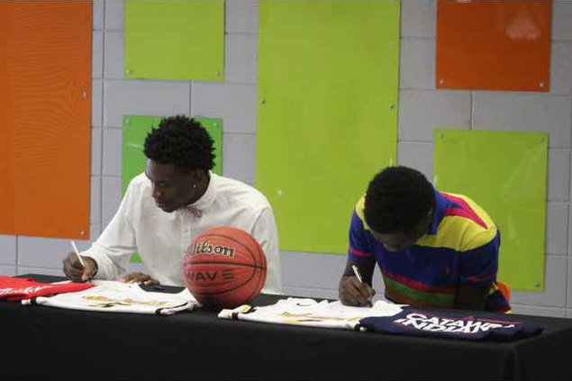 Bball signings