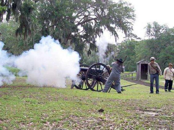 FortMcA-Cannon go boom
