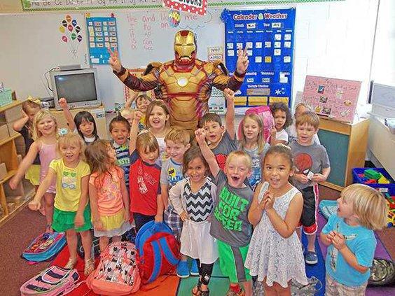 Ironman visit