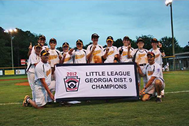 Little League 12 year old champs 2