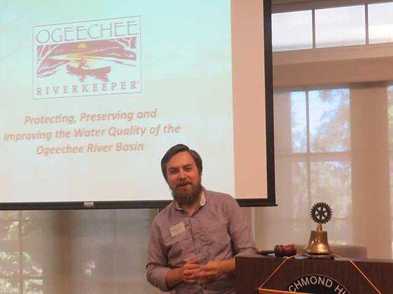 ORK presentation at Rotary 001