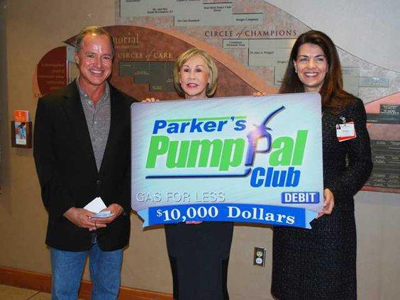 Regional-Greg Parker Memorial Foundation Donation photo