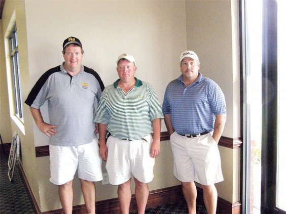 Third place golfers correct
