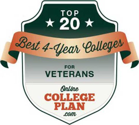 Top 20 Four-Year Colleges for Veterans