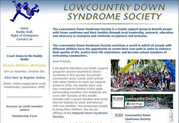 down syndrome soc