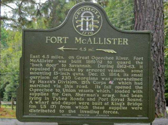 ft mcallister historic marker