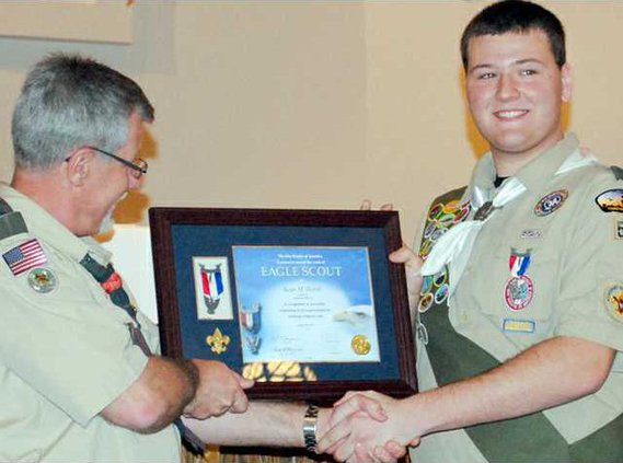 living eagle scout hardy