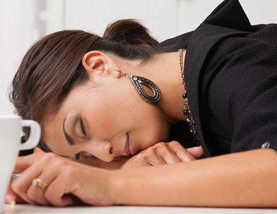 sleep at desk