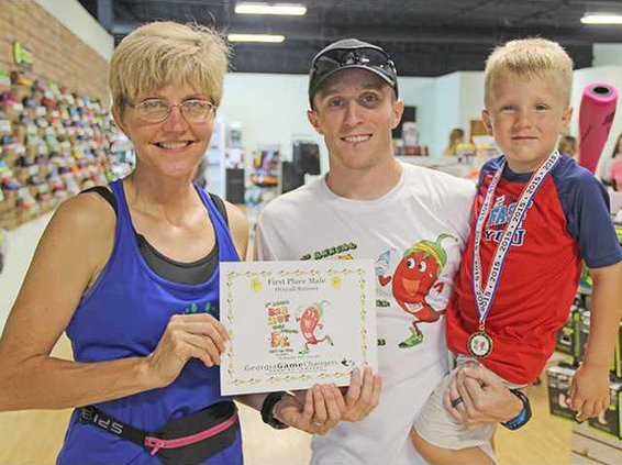 sports - Chili Pepper 5K winner