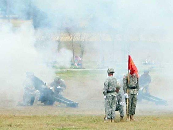 0210 Cannon firing