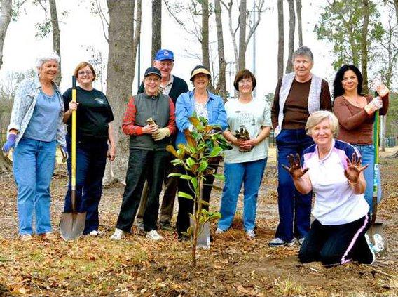 0229 GA Arbor Day planting