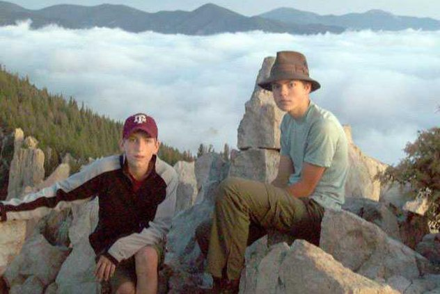 Above the Clouds at Philmont 2009