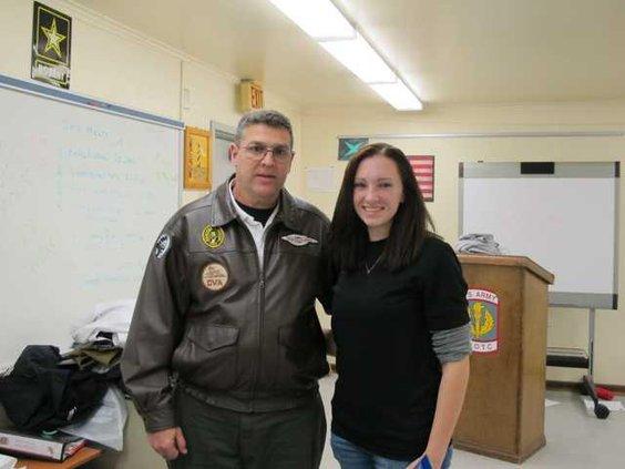 Air Force Academy girl