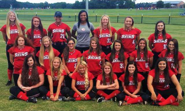 BCHS softball team pic