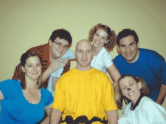 Cast Photo Charlie Brown