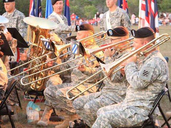 Fort Stewart band 1