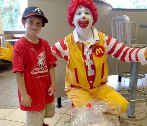 Jaden gift to RMHC4