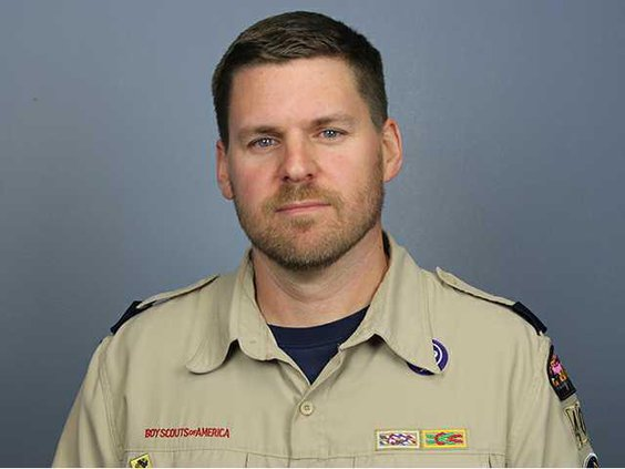Jason Whittaker former Eagle Scout now Den Master strives to lead with purpose in Richmond Hill. Photo by Evelyn Fallon