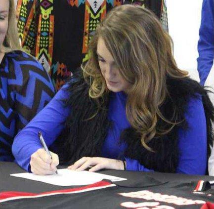 Layton Harrell signing