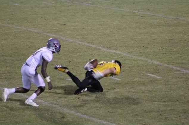 Matt Daniel catch