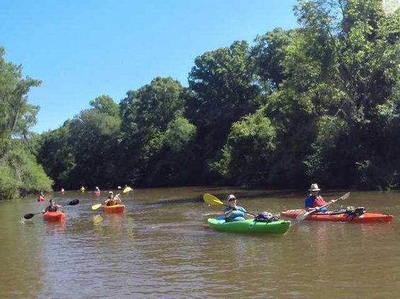 ORK 2015 Paddle Trip scene
