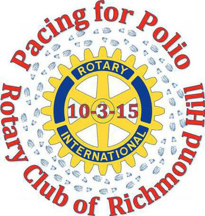 Pacing for Polio logo