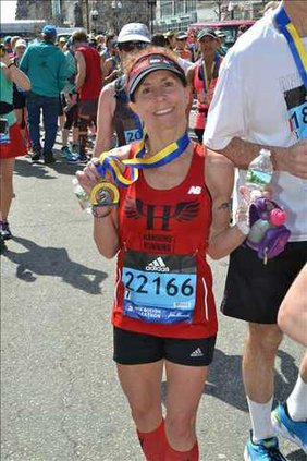 Pam Howe Boston Marathon