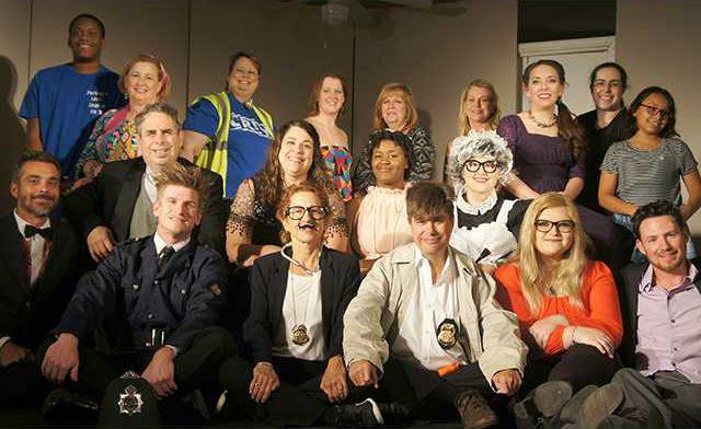 community theater cast shot
