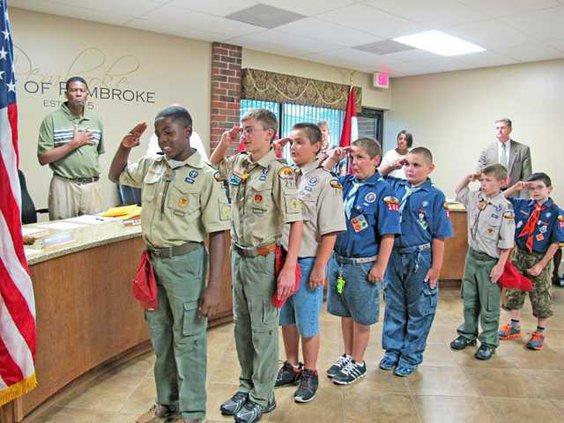pembroke council scouts