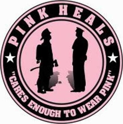 pink truck emblem