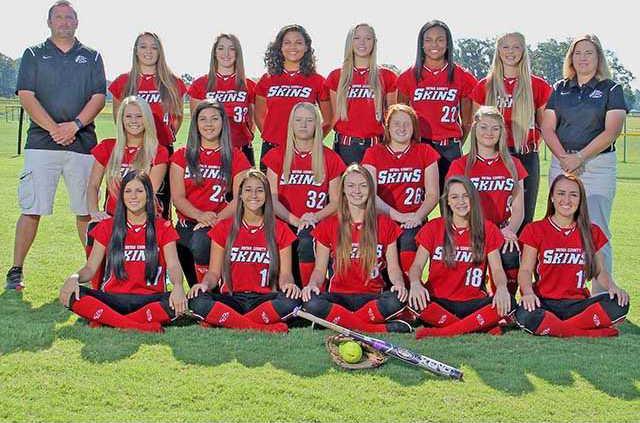 sports - BCHS softball team picture